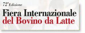 72ª Fiera Internazionale del Bovino da Latte