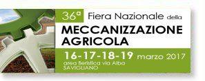 36ª Fiera Nazionale Della Meccanizzazione Agricola