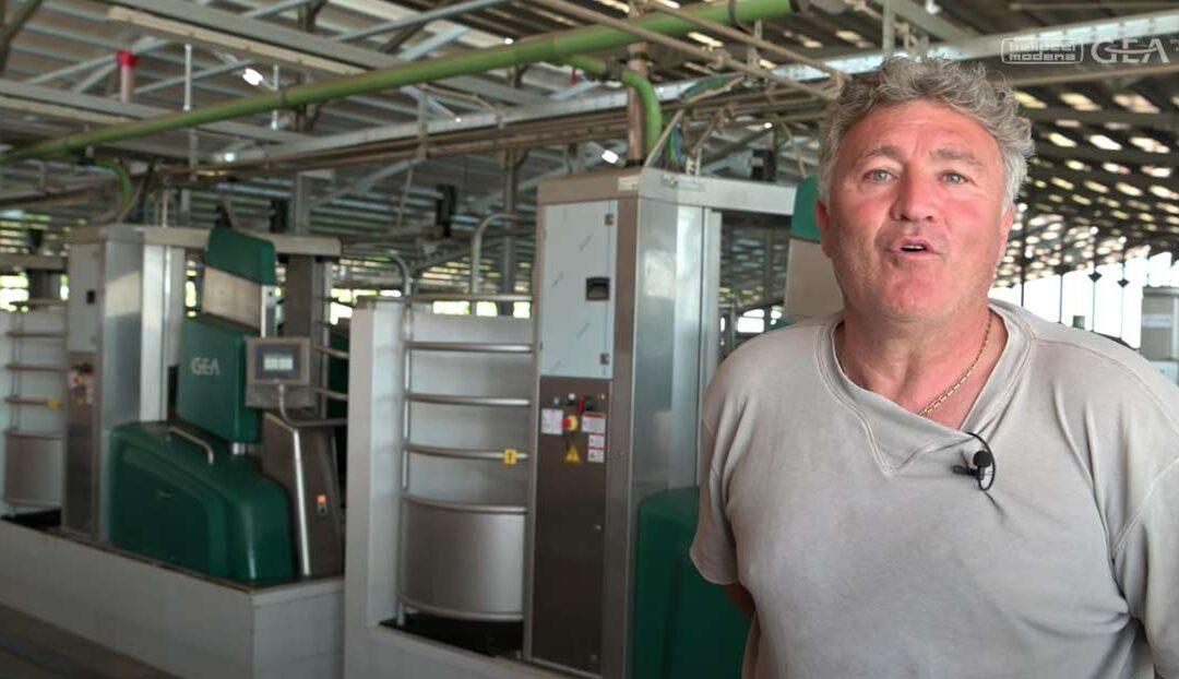 Dairy Robot R9500 per la mungitura automatica della Pizzo del Prete di Cerveteri